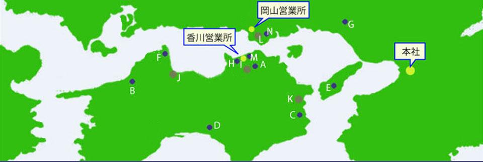 営業所地図